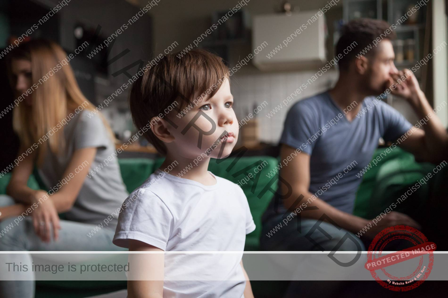 conflit de loyauté de l'enfant de PN