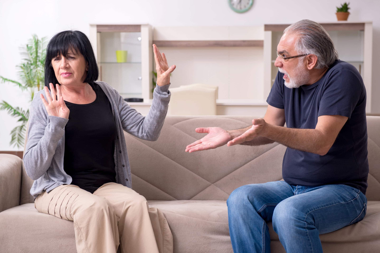 Une discussion de couple ? Oui mais pas de violence physique ou psychique